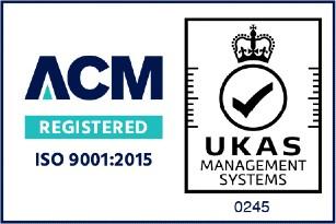 ISO 9001:2015 ACM registered Logo