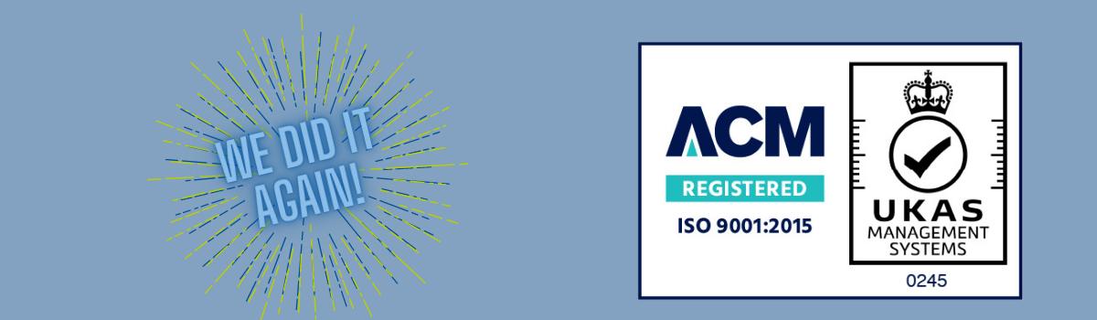 Sureteam Awarded ISO 9001: 2015 Accreditation